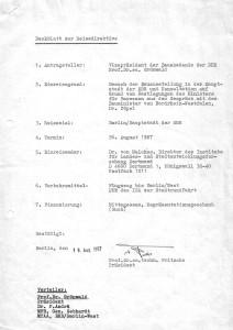 Direktive Grönwald 29.07.1987